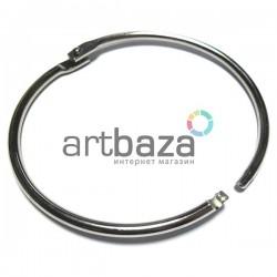 Набор колец металлических для переплета (скрапбукинга), разъёмных, ∅85 мм., 1 штука, REGINA