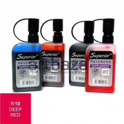 Заправка (чернила спиртовые) для маркера, 10 deep red, Superior