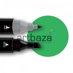 Маркер Tinge Twin Marker, 46 vivid green, Superior