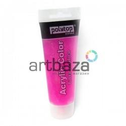 Гель с блестками (жидкий глиттер), розовый, 75 мл., Polytop