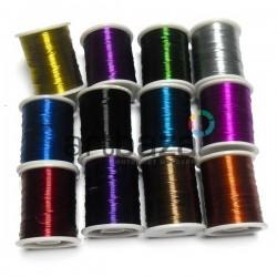 Набор цветной проволоки для бисера и бижутерии (Ø0.3 мм., 20 м., 12 штук)