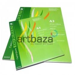 Альбом - склейка бумаги для акварели, 297 x 420 мм., 230 гр./м²., 12 листов, CONDA