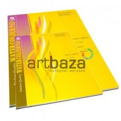 Альбом - склейка бумаги для акварели, 297 x 420 мм., 180 гр./м2., 18 листов, CONDA