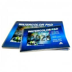 Папка - альбом бумаги для акварели на спирали, 297 x 420 мм., 190 гр./м2., 20 листов, Phoenix