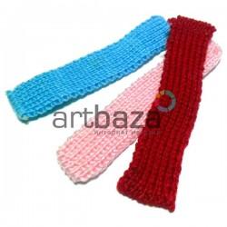 Набор декоративных вязаных шарфиков, 3 штуки