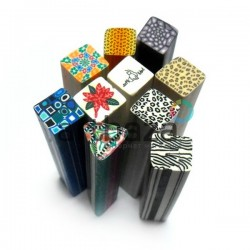 """Фимо - палочки для дизайна ногтей, из полимерной глины, mix Fimo sticks"""", Ø9 мм., длина 5 см."""""""