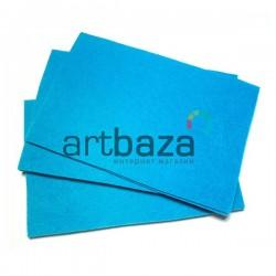 """Фетр для поделок и рукоделия """"Голубой"""", 1 мм., 20 x 30 см."""