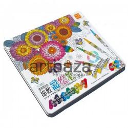 Набор фломастеров Fabric Marker для росписи по ткани и керамике, 20 цветов, Soundy Concept
