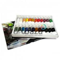 Профессиональный набор художественных масляных красок, 24 цвета по 12 мл., Phoenix | PO2412 | 6932599309544