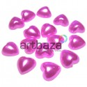 Набор розовых декоративных перламутровых полубусин под жемчуг, Ø1 см., 15 штук, REGINA