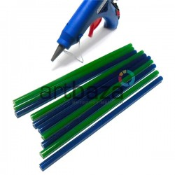 Термоклей ( клеевые палочки )  для термопистолета, цветной, (80 гр., Ø7 x 200 мм.), 10 штук