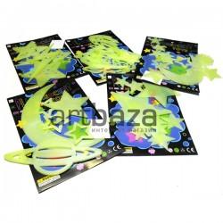 Светонакопительные фосфоресцирующие наклейки (Наклейки светящиеся в темноте)
