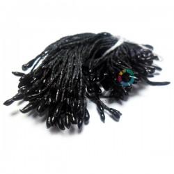 Тычинки для цветов двусторонние, чёрные, размер Ø2 мм., длина 6 см., REGINA
