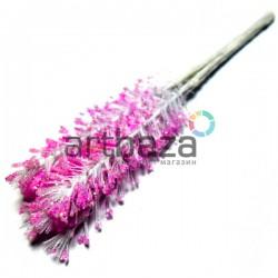 Набор декоративных стеблей с глиттером, розовые, 12 см., 10 штук, REGINA