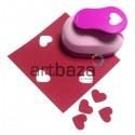 Дырокол фигурный (компостер), сердце, 1.6 см., Kamei