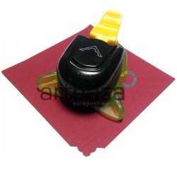 Штамп (компостер) для скрапбукинга, эмбоссинга и кардмейкинга, номер 3, 1.5 см., Kamei