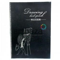 Скетчбук - альбом для эскизов DRAWING BOOK А3, 260  х 380 см., Maries