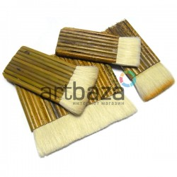 Традиционная китайская бамбуковая кисть для оформления работ из волоса козы