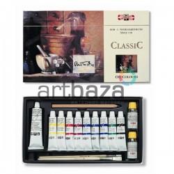 Набор художественных масляных красок CLASSIC, 10 цветов по 16 мл., Koh-I-Noor