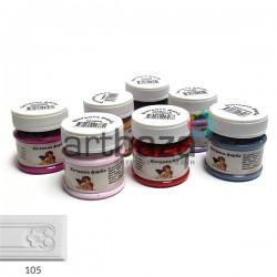 Винтажная меловая краска, молочный, 50 мл., Daily ART