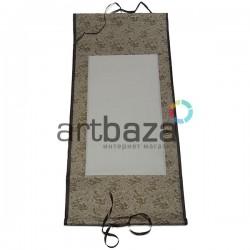 Свиток для китайской каллиграфии и живописи с рисовой бумагой, коричневый дракон, р-р: 30.5 x 67 см.