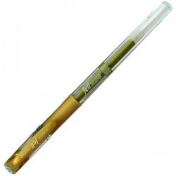 Ручка гелевая для рисования, золотая, 0.7 мм., Dong A