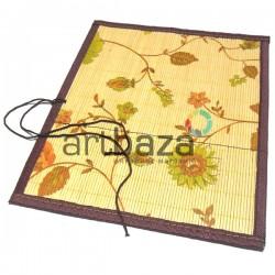 Пенал - коврик для кистей бамбуковый, 25.5 x 30 см., REGINA