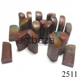 Мыльный камень для резьбы печати, 4 - 5 см.