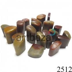 Мыльный камень для резьбы и гравировки печати, 2.5 - 3.5 см. шлифованный   Камень - заготовка для восточной печати