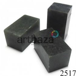 Мыльный камень для резьбы печати, 5.2 x 2.9 x 2.9 см.