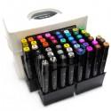 Набор художественных маркеров Tinge Twin для рисования, 48 цветов