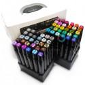 Набор художественных маркеров Tinge Twin для рисования, 60 цветов