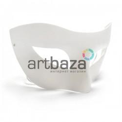 """Венецианская карнавальная маска """"Коломбина романтичная"""", с резинкой, 16.5 см. x 9 см."""