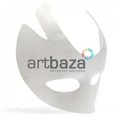 """Венецианская карнавальная маска """"Огонь"""", с резинкой, 21 см. x 21 см."""