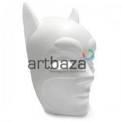 """Заготовка карнавальной маски на Хэллоуин """"Batman"""", с резинкой, 15.5 см. х 26 см."""