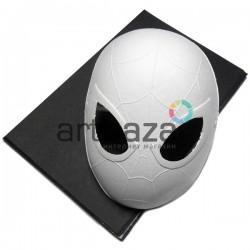 """Заготовка карнавальной маски на Хэллоуин """"Spider Man"""", с резинкой, 16.5 см. х 22.5 см."""