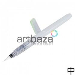 Кисть - ручка Brushpen для каллиграфии и растушёвки, заправляемая, 18 cм., средняя, Superior