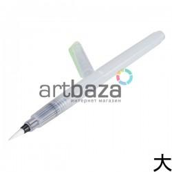 Кисть - ручка Brushpen для каллиграфии и растушёвки, заправляемая, 18 cм., большая, Superior