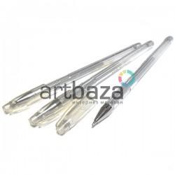 Серебряная гелевая ручка (ручка с серебряными чернилами) для рисования 0.7 мм., EASY купить в Украине