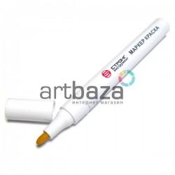 Масляный маркер - краска, white, 3 мм., Стронг Инструмент | Маркер - краска по металлу CTM-60108001 в Киеве и Украине