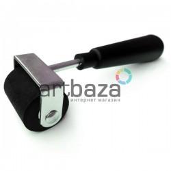 Валик дактилоскопический каучуковый на металлических кронштейнах, рабочая часть: 3.7 см.