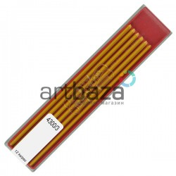 Желтые грифели (стержни) для цангового карандаша, Ø2 мм., COLORAMA, Koh-I-Noor
