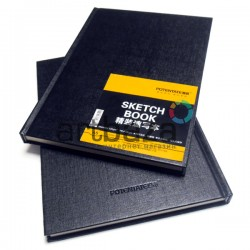 Блокнот для зарисовок (набросков), Sketchbook A5, 56 листов, 148 х 210 мм., POTENTATE | Скетчбуки для рисования в Украине