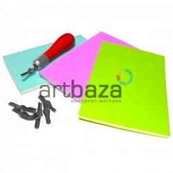 Резиновый коврик для вырезания штампов, 15 x 10 x 0.8 см. | Резина для вырезания и изготовления hand made штампов