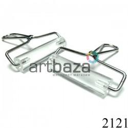 Акриловый ролик для раскатки пластики и полимерной глины, 10 см., Staedtler