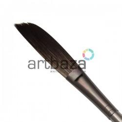 """Кисть синтетическая акварельная №1/2, 13 мм., """"Zen"""", скошенная сабелька (sword brush), Royal & Langnickel"""