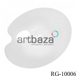 Палитра пластиковая плоская, 21.5 х 17.5 см., REGINA
