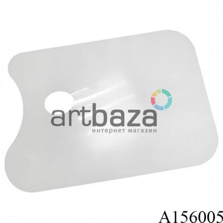 Палитра пластиковая для рисования, плоская без ячеек, 25 х 37 см. купить в Киеве и Украине по цене художественного магазина