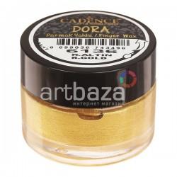 Воск для золочения Dora Finger Wax, Rich Gold / Богатое Золото, 20 мл., CADENCE | Купить CADENCE воск для золочения Dora Wax