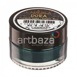 Воск для золочения Dora Finger Wax, Dark Turquoise / Турецкий Синий, 20 мл., CADENCE | CADENCE воск для золочения Dora Wax